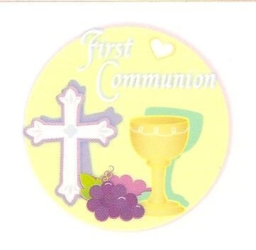 First Communion ~ Edible Cake Topper