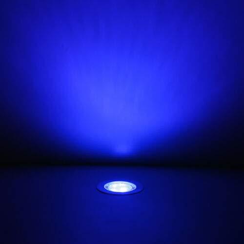 45 Mm Blue Led Deck Lights in US - 5