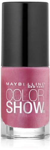 (Maybelline New York Color Show Nail Lacquer, Rose Rapture, 0.23 Fluid Ounce)