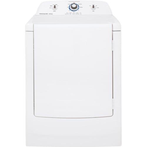 Frigidaire FARE1011MW Affinity 7.0 Cu. Ft. White Electric Dryer