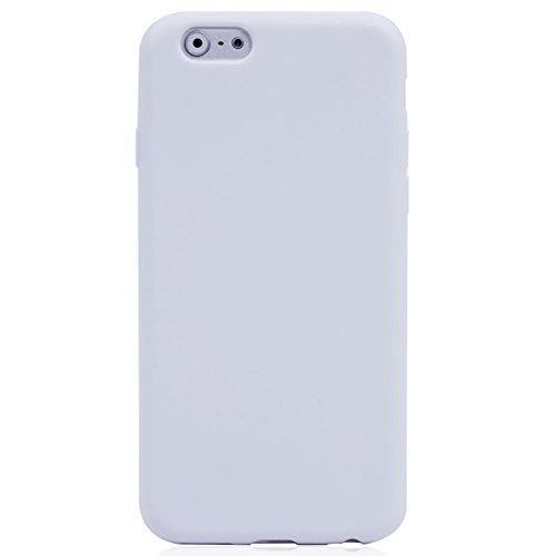 Phone Taschen & Schalen Horizontale Flip Touch Screen Frosted TPU Schutzhülle für iPhone 6 Plus & 6S Plus ( Color : White )