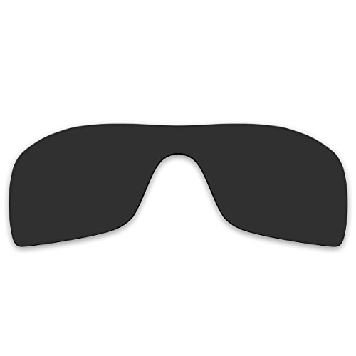 Replacement Black Polarized Lenses for Oakley Batwolf Sunglasses - Polarized Oakleys Batwolf