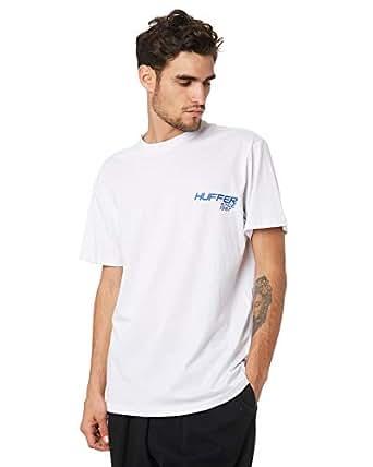 Huffer Men's Copy Left Mens Tee Short Sleeve Cotton White