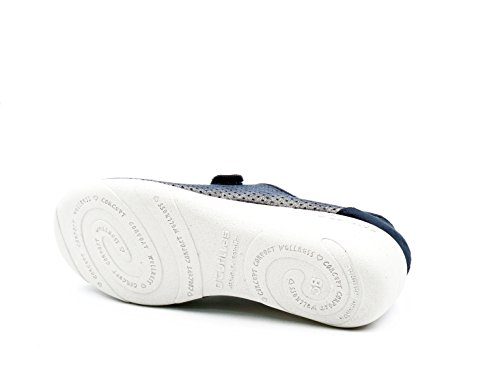 Deportivo CUTILLAS Cierre Zapato 110 Perforado EN Nobuk Azul Tipo DOCTOR 3176 Marino Azul Velcro Color 1tqxwvd1C