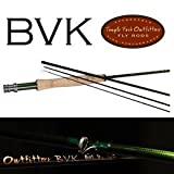 Temple Fork Outfitters BVK Series Fly Rod 8 Foot 6 inch 4 Weight 4 Piece