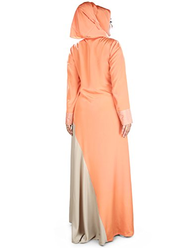 Las 400 Burka De Islámica Y Mujeres Naranja Formal Abaya Cálida Informal Gris Ay Mybatua wOXxqvYgW