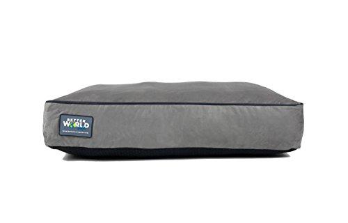 Orthopedic Dog Bed | Pure Premium Shredded Memory...