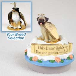 Conversation Concepts Miniature Collie Tricolor Candle Topper Tiny One Pet Angel Ornament (Dog Ornament Angel Collie)