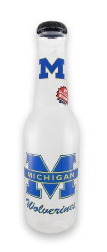 Zeckos University of Michigan Wolverines Jumbo Bottle Coin Bank 21 in. ()