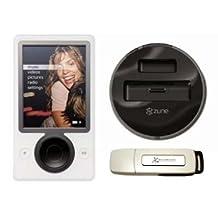 Zune - Bundle 30 Gb Digital Media Player W/ Microsoft Docking Station 1Gb Usb 2.0 Flash Drive