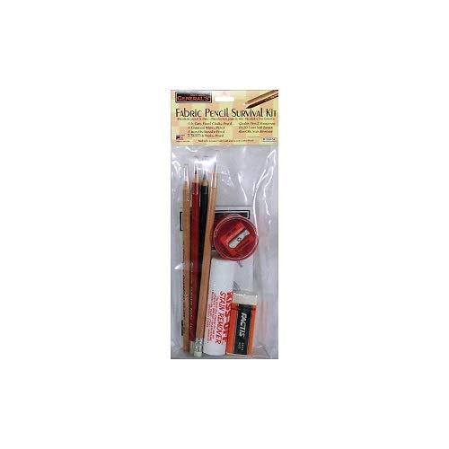Fabric Pencil Eraser - General Pencil RZ03-02190200-R3U1 Fabric Pencil Survival Kit-