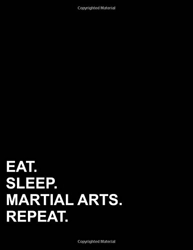 Eat Sleep Martial Arts Repeat: Two Column Ledger  Accounting Journal Entry Book,  Accounting Journal Ledger, Bookkeeping Ledger For Small Business , 8.5