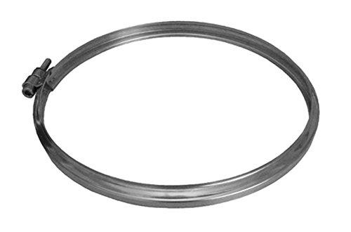 Dinak sw 304 - Abrazadera union 304 sw diámetro 125-flux diámetro 80/125