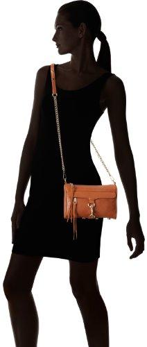 Rebecca Minkoff Mini MAC Convertible Cross-Body Bag, Almond,One Size