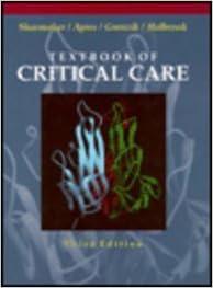 TEXTBOOK PF CRITICAL CARE 3/E