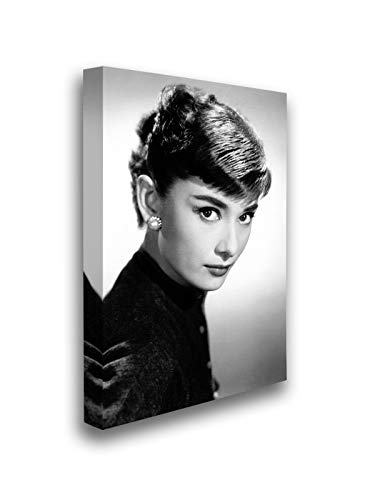 Christmas Pajamas for Family Hepburn Print Movie Poster Audrey Hepburn Black Dress Wall Art Ready to Hang Vintage Home & Office Decor Audrey Hepburn Canvas Print 3 24