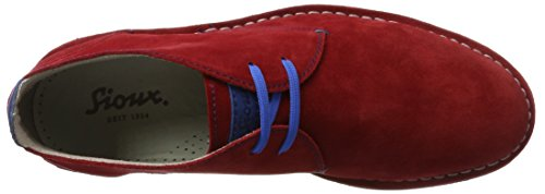 Sioux Ursano-141, Zapatos de Cordones Derby para Hombre Rojo (Fire)
