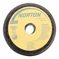 Norton 547-66253198586 Bluefire Snagging Cup Wheel, 6 in. Dia., 2 in. Thickness, 16 Grit by Norton Abrasives - St. Gobain (Image #1)