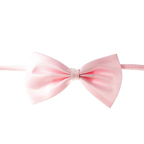 Heilsa Dog Bows, Cute Pet Small Dog Hair Bowknot Topknot with Rubber Bands Grooming Accessories]()