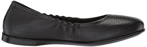 Black Nero Donna Enchant ECCO Incise Ballerine 4wTppF