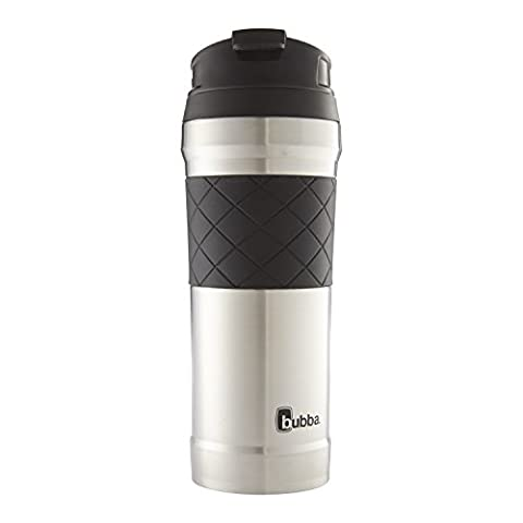 Hero Elite Vacuum Insulated Stainless Steel Travel Mug with TasteGuard, 16 oz. White (Travel Coffee Mug 16 Ounce)