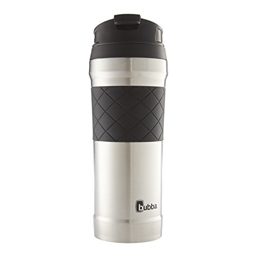 Bubba HERO Elite Vacuum-Insulated Stainless Steel Travel Mug with TasteGuard, 16 oz., White