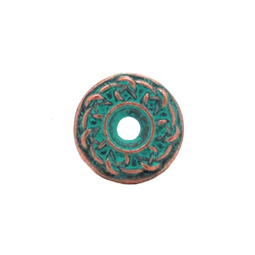 - Celtic Bezel Concho in Copper Patina 3/4