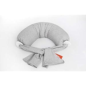 bbhugme® Nursing Pillow ™, The Award-Winning Original Breastfeeding & Nursing Pillow with Premium Travel Bag (Beige…