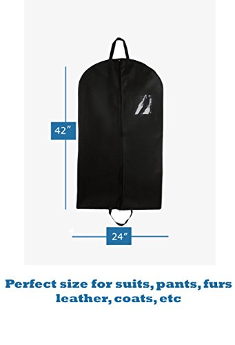 Luggage 4 Less (Bags for Less 40-Inch Foldover Breathable Garment Bag with Handles and Gusset -)