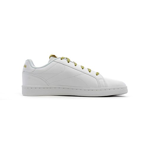 Royal G White Metallic Black Gold Women's Shoes Complete Fitness Reebok CLN White BqaxgnF5T