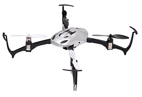 """G Force 2.4GHz 4ch Quadcopter """"Reversi"""" (Silver) RTF Set GB271【Japan Domestic genuine products】"""