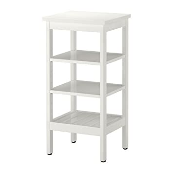 Ikea HEMNES Regal in weiß; (42x84cm): Amazon.de: Küche ...