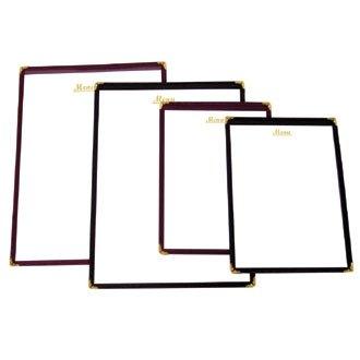 Estilo americano soporte para cartas de menú - rojo - tamaño ...