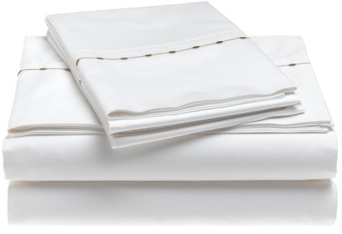 Barbara Barry Dream Pearls 100% Supima Cotton 500-Thread-Count Sateen King Pillowcase - Barry Pillowcase