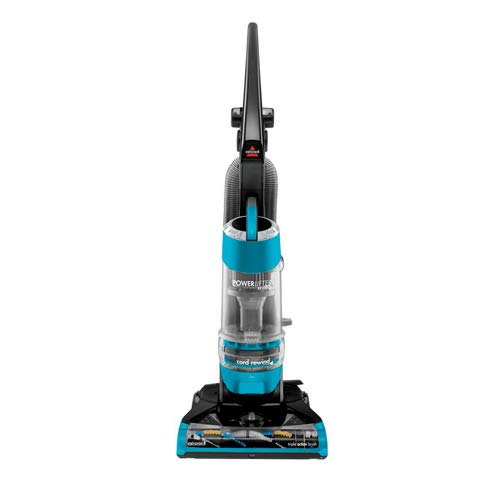(Bissell Powerlifter Rewind Upright Vacuum with Multi-Cyclonic System, Triple Action Brush Roll )