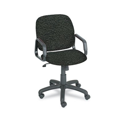 Safco Products Cava Collection (SAFCO PRODUCTS Cava Urth Collection High Back Swivel/Tilt Chair, Black, Sold as 1 Each)