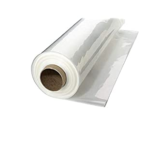 A&A Green Store Greenhouse Plastic 4 Year 6 mil UV Resistant Clear Polyethylene Film (5′ x 28′)