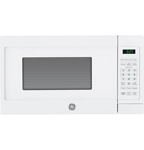 GE JEM3072DHWW 0.7 Cu.Ft. Capacity 700 Watt Countertop Microwave Oven in White