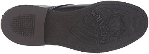 Kilometer Fashion Black Men's Wolverine Boots 57z8IEx