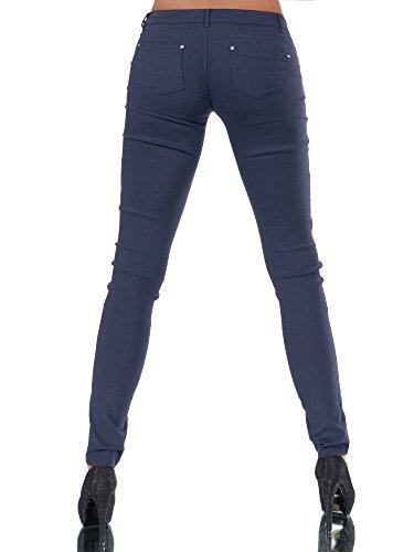 Jeans Donna Dunkelblau jeans Diva Basic Jeggings 5Ix1qFgw4