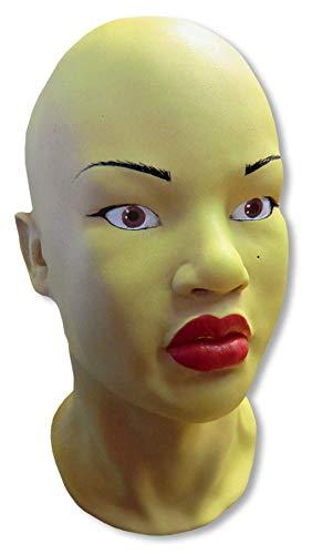 Horror-Shop Maschera asiatica donna Mi Ling