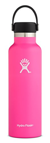 - Hydro Flask 24 oz Double Wall Vacuum Insulated Stainless Steel Leak Proof Sports Water Bottle, Standard Mouth with BPA Free Flex Cap, Flamingo