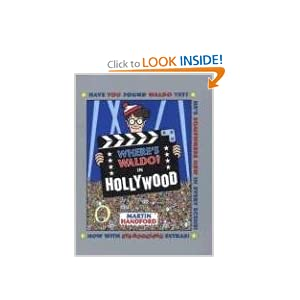 Where's Waldo? In Hollywood! Mini Hardcover with Free Magnifying Lens Martin Handford