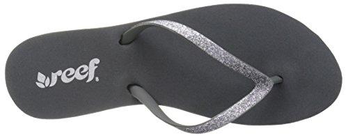 Reef Stargazer, Sandalias De Caucho Mujer Dark Grey