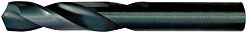 12 Pack Alfa Tools SM60412 Size L High-Speed Steel Screw Machine Drill Black