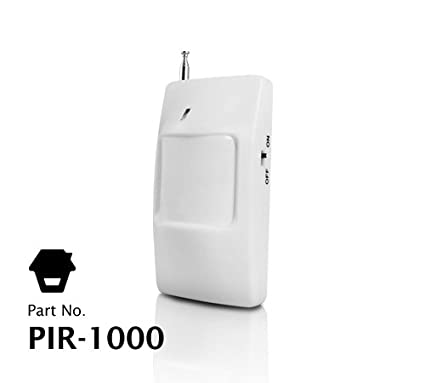Sensor / Detector de movimiento (PIR) de larga distancia inalámbrico
