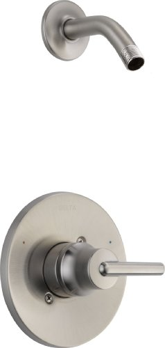 Delta T14259-SSLHD Trinsic 14 Series MultiChoice Shower Trim without Showerhead, Stainless