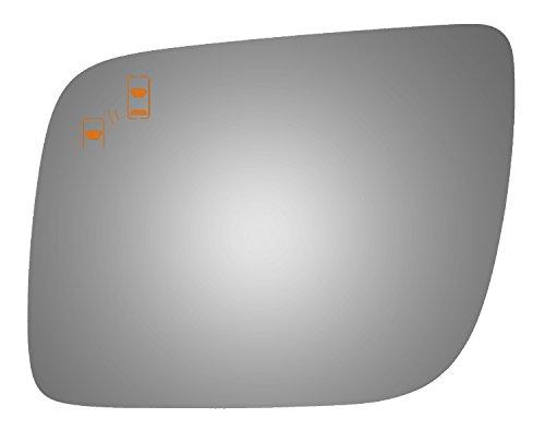 Burco 4430B Left Side Mirror Glass w/Blind Spot for 11-16 Ford Explorer