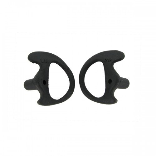 Valley Enterprises® Black Replacement Medium Earmold Earbud One Pair Two-Way Radio Audio