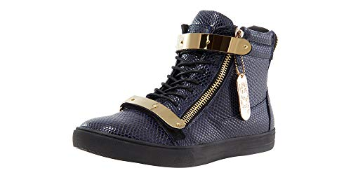 - Jump J75 Men's Zion Shoe, Navy-Stamp-Patent, 7 Medium US